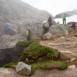 Den Fjord im Rücken