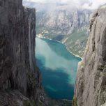 Blick auf den Lysefjord