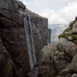 Wasserfall am Kjeragbolten