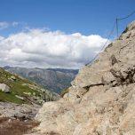 Steiler Wanderweg am Kjerag