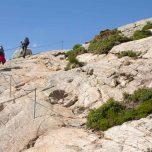 Steiler Wanderweg