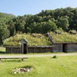 Prähistorisches Dorf in Landa Park