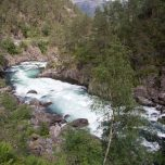 Wilder Fluss in Norwegen
