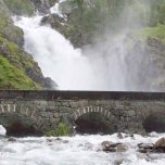 Låtefossen, Norwegen, Wasserfall