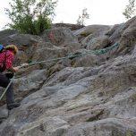 Klettern am Seil