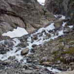 Gletscherfluss am Buarbreen