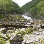 Brücke über Gletscherbach