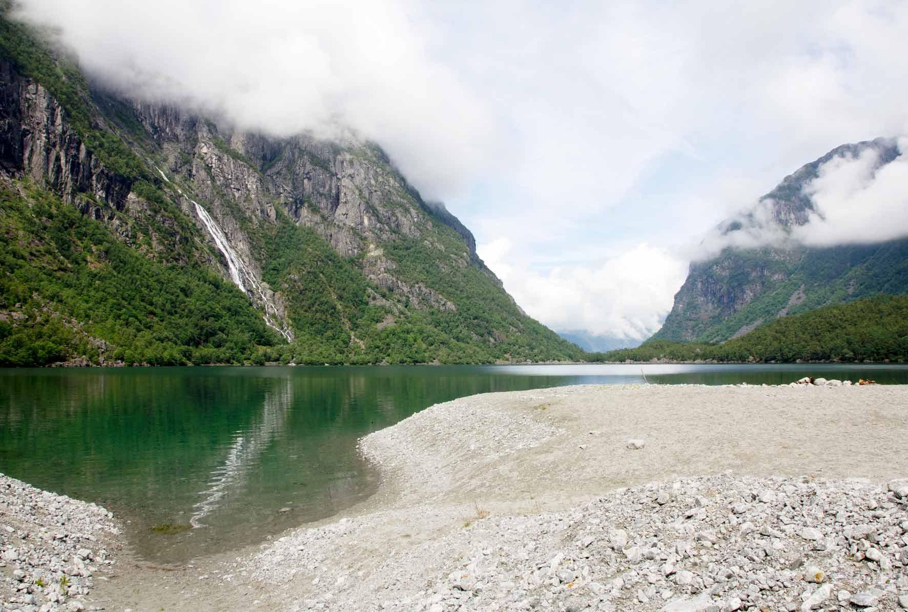 Schwemmsand vom Gletscher