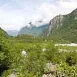 Blick zurück Vetledalen