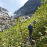 Wanderweg zum Bondhusbreen
