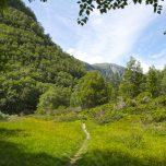Wanderweg Bondhusbreen Vetledalen