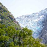 Letzter Gletscherblick Bondhusbreen