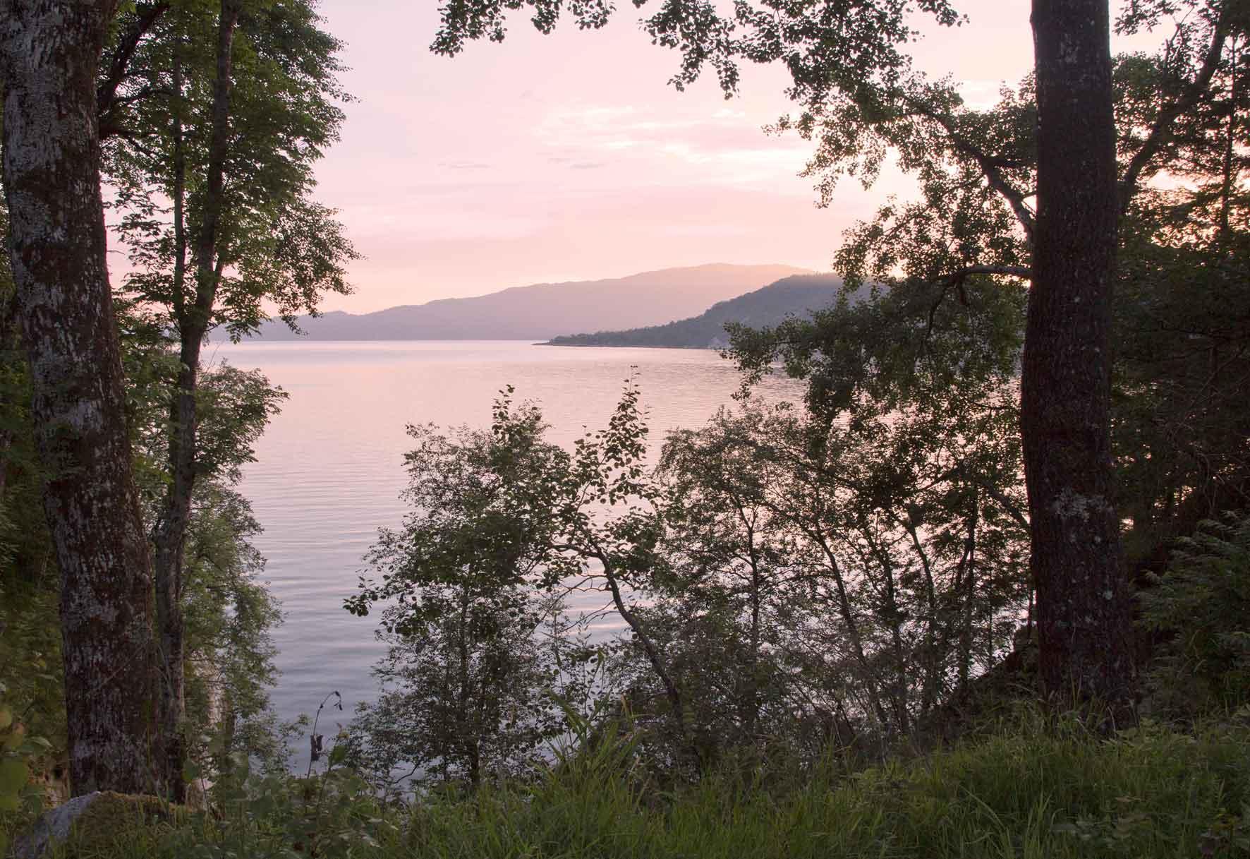 Abendstimmung am Hardangerfjord