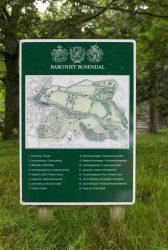 Lageplan Baronie Rosendal
