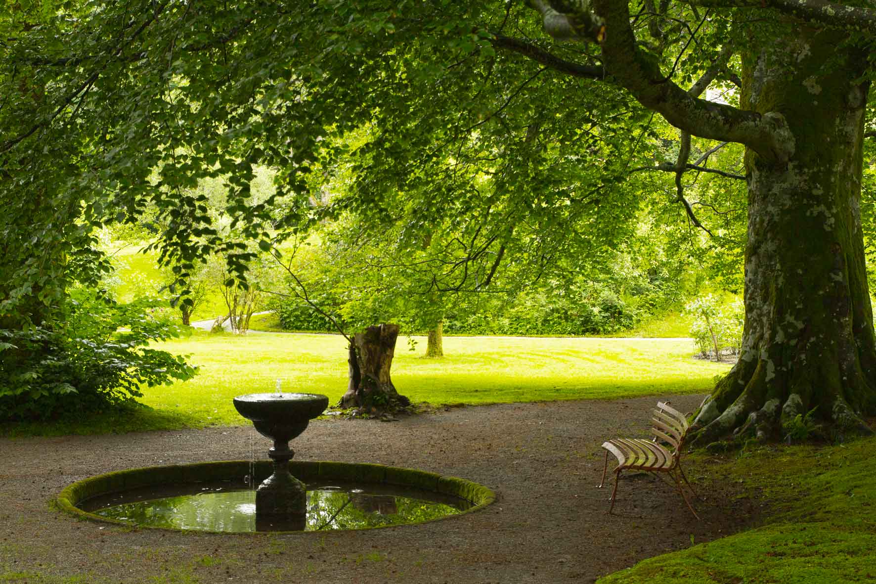 Ruheplatz in der Baronie Rosendal