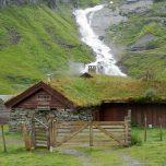 Bauernhof in den Bergen