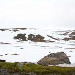 Winterlandschaft im Sommer