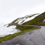 Schnee Winterlandschaft im Sommer