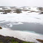 Schnee Eis Winter im Sommer