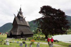 Stabkirche Hopperstad in Vik am Sognefjord