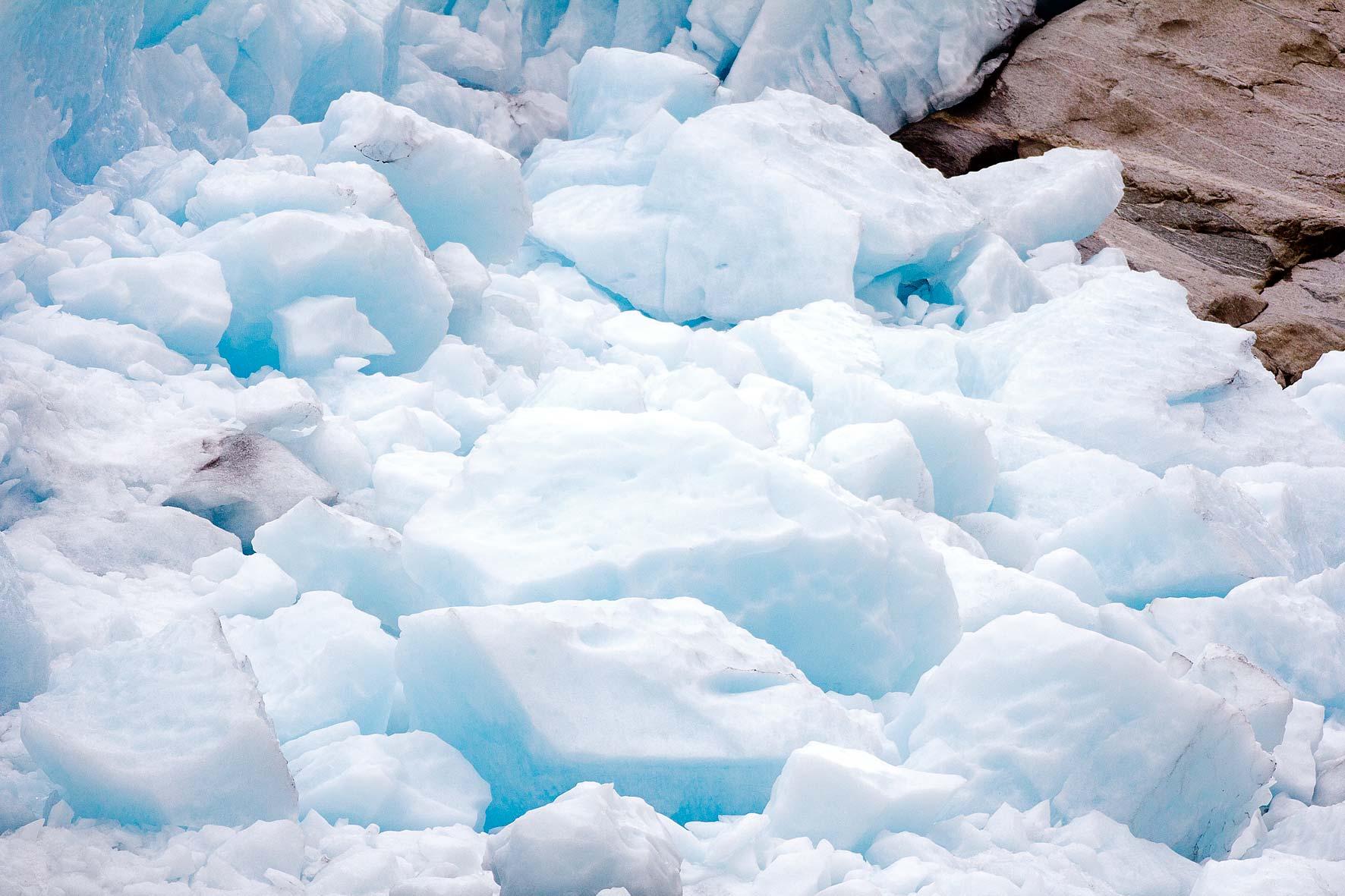 Blaues Eis Nigardsbreen