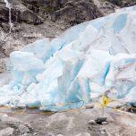 Absperrrung Gletscher