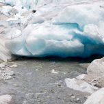 Gletscherabfluss