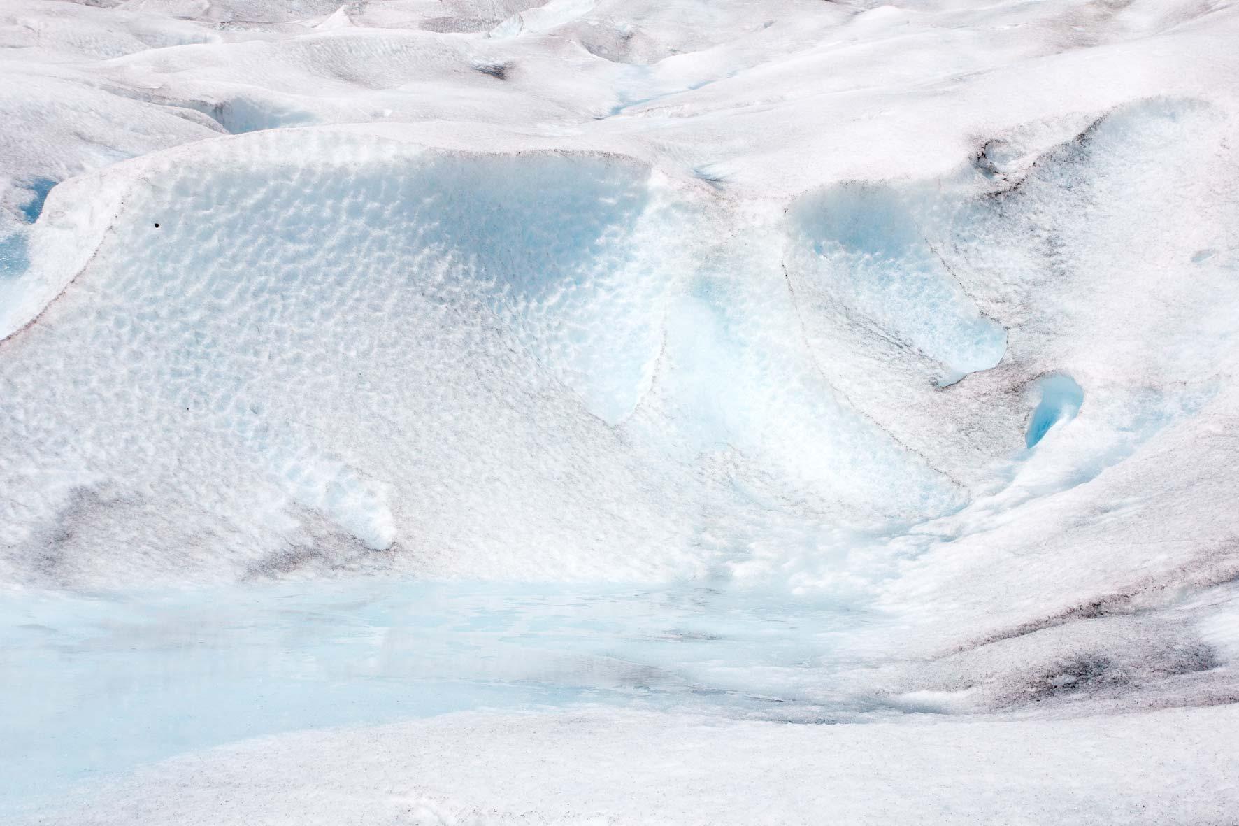 See auf dem Gletscher