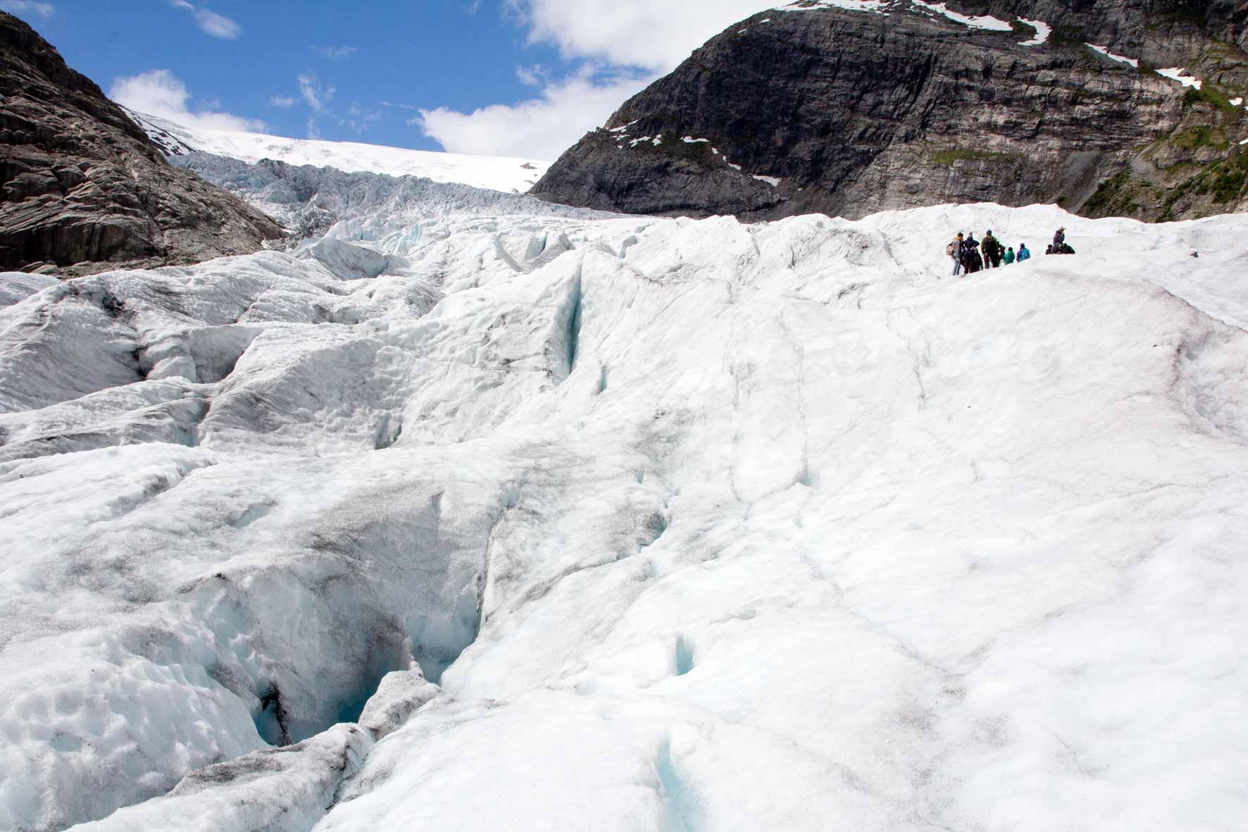 Rast Gletscher Nigarsdbreen