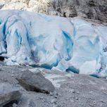 Am Gletscher