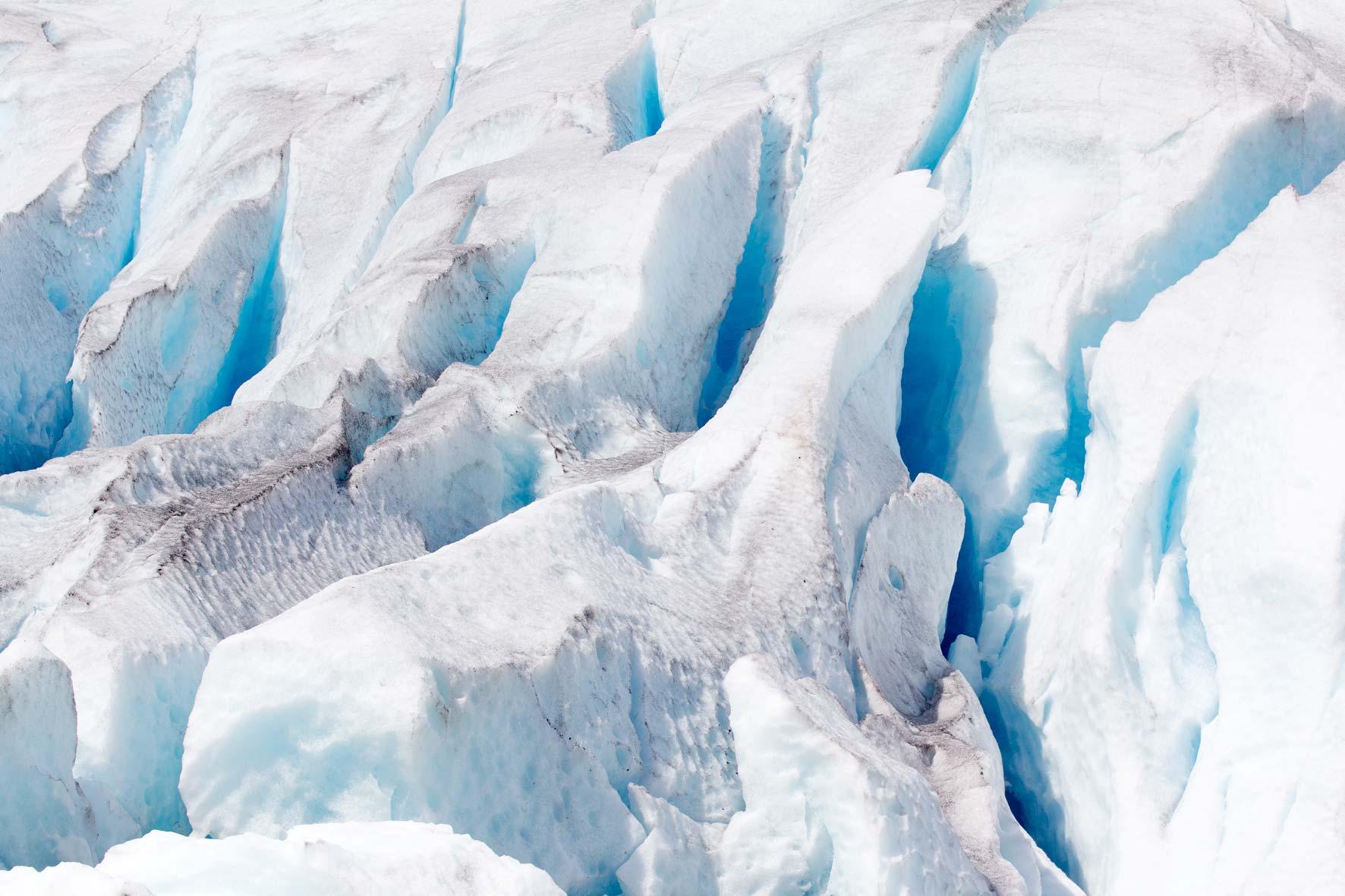 Nigardsbreen Blau Eis Gletschereis