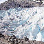 Gletscher in der Sonne