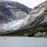 Rückfahrt vom Gletscher