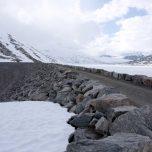 Staumauer Austdalsbreen