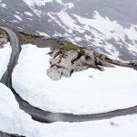 Straße zum Gletscher Austdalsbreen