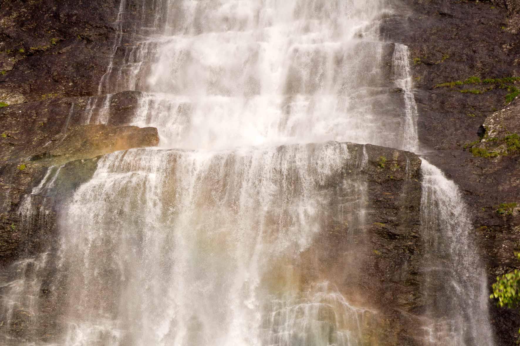 Wasserfall Vassbakken