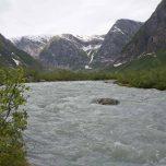 Gletscherfluss des Austerdalsbreen