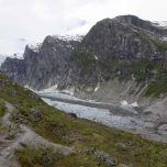 Gletscher in Sicht