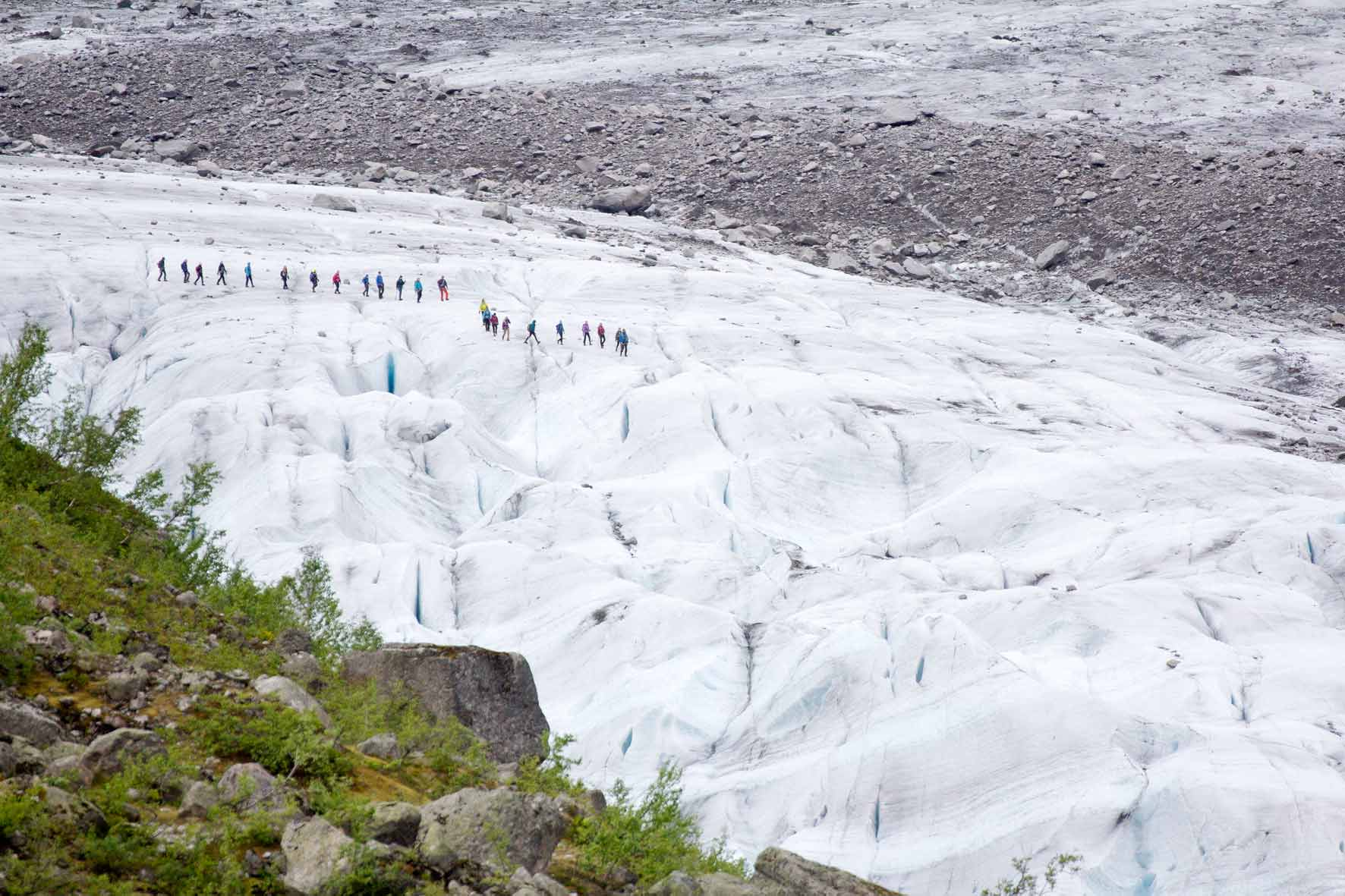 Gletscherwanderung Austerdalsbreen