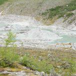 Entstehung einer Endmoräne am Gletscher Austerdalsbreen