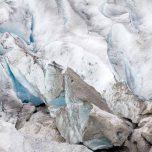 Schmutziges Eis am Austerdalsbreen