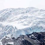 Blaues Gletschereis am Jostedalsbreen