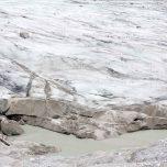 Gletscherrand Rand des Austerdalsbreen