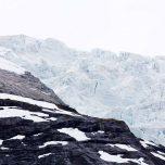 Zerklüfteter Gletscher Jostedalsbreen