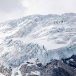 Zerklüfteter Gletscher Austerdalsbreen
