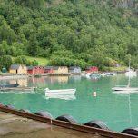 Hafen von Solvorn am Lusterfjord