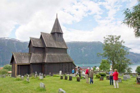 Stabkirche Urnes am Lusterfjord