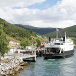 Fährhafen in Kaupanger