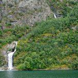 Wasserfall am Nærøyfjord
