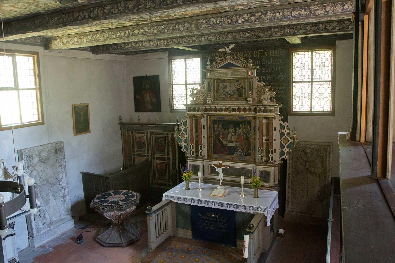 Altar Dorfkirche Ketzür